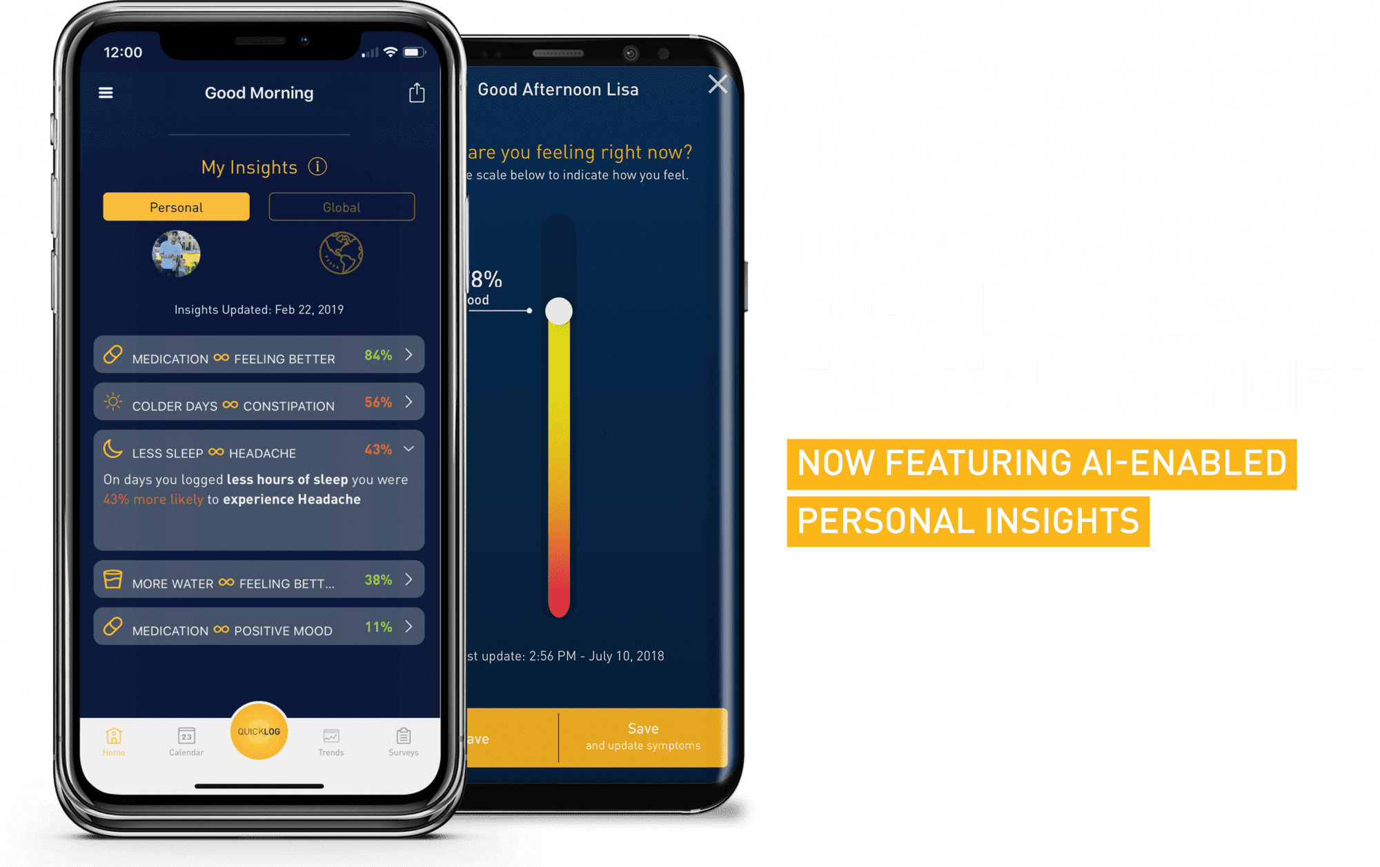 A free mobile app for people fighting cancer